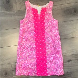 Lily Pulitzer for Target bright pink shift dress.
